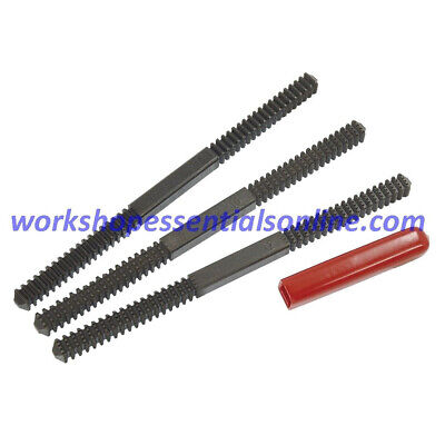 Thread File Set 3 Piece Double Ended Lang for Imperial & Metric Threads AE2573