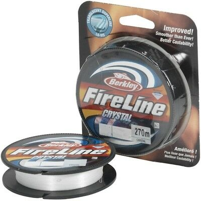 Berkley Fireline Fused Braid Smoke or Crystal 10-30lb
