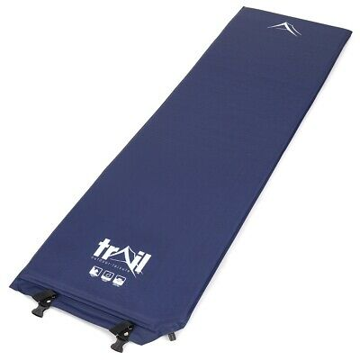 Single Self-Inflating Inflate Camping Mat Camp Bed Inflatable Sleeping Mattress