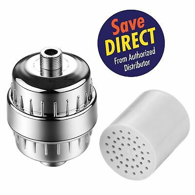 HotelSpa® 1126 Universal Shower Filter with Replaceable 2 Stage Cartridge