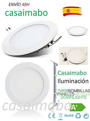 Downlight LED SLIM Redondo Extraplano 20W para Interior Luz Blanca Techo 1500LM