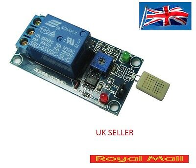 Humidity Sensitive Switches Modules Relay Controller SRD 5V DC Sensor UK  #B142