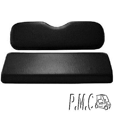 Club Car Precedent Rear Seat Cushion set only Plastic Bottom Black