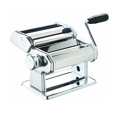 World of Flavours Italian Deluxe Double Cutter Pasta Machine Kitchen Craft