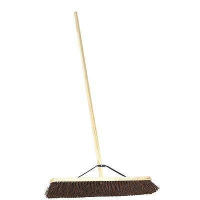 Harris Victory PA25524H 24-inch Bassine Platform Broom with Handle and Stay
