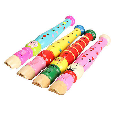 20cm Flute Piccolo Whistles Musical Instrument Kid Children Early Education Toy
