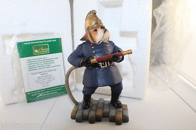 "Robert Harrop Doggie People DP165  Bulldog  ""Fireman""   M/Boxed"