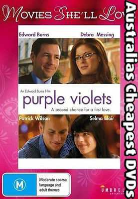 Purple Violets DVD NEW, FREE POSTAGE WITHIN AUSTRALIA REGION ALL