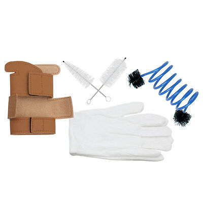 New 5pcs Trumpet Protective Cover/ Cleaning Kit - Trumpet Protector Gloves Set