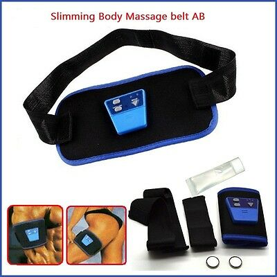 AB Gymnic Body Abdominal Muscle Exercise Massage Slim Fit Toning Belt Unisex KY