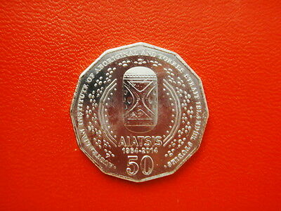 2014 - Australian - Aiatsis - 50 Cent Coin From - Ram - Unc - Low Mintage - Rare
