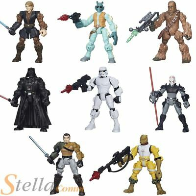 Hasbro Star Wars 6 Inch Hero Mashers Atriculated Action Figures