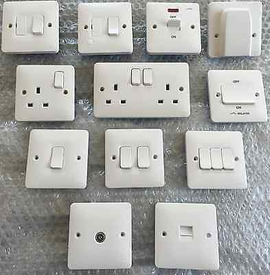 Hager Sollysta Range  switches -  sockets & accessories