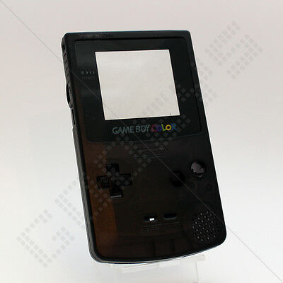New Clear Black Nintendo Game Boy Color GBC Replacement Case/Shell/Housing Kit