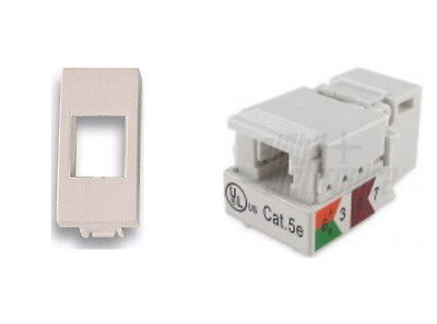 Presa Di Rete Rj45 Cat. 5E Per Serie Bticino Living Light