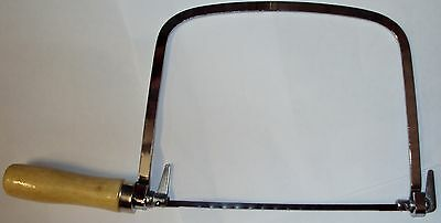 Coping Saw - Cutting Curves Shaping Wood Work Hobby Crafts Carpenters Tool New