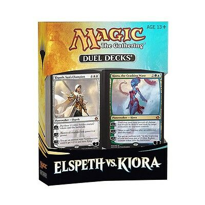 MTG Magic the Gathering DUEL DECKS Elspeth vs. Kiora INGLESE