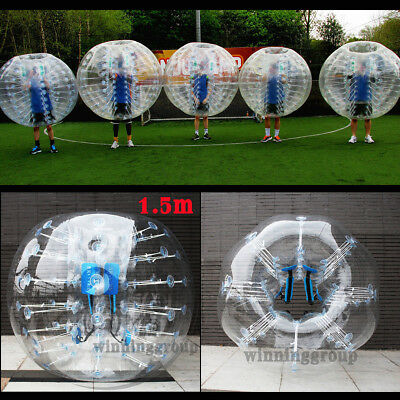 1.5M Inflatable Bumper Body Zorbing Ball Human Knocker Ball Bubble Soccer Ball