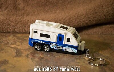 Custom 1/64 Trailer KeyChain FOB Llavero Forest River Jayco Keystone Air Stream