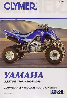 Clymer Quadbike Atv Repair Manual Yamaha Raptor 700R