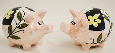 Collectable Novelty Salt and Pepper Shaker Set PIGS PIGGY Collect Kitchen FRE...