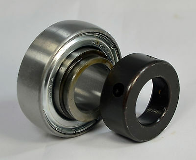 "SA205-16 1"" Bore Spherical Insert Bearing with Locking Collar 1""x52mm RA100NPPB"