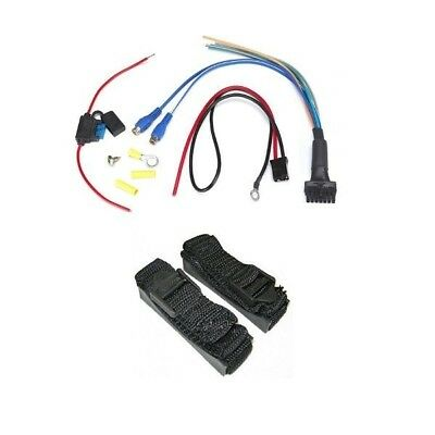 """BAZOOKA RSA-HP-AWK Wiring Harness & Mounting Straps For 8"""" Amplified Tubes"""