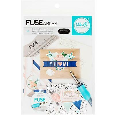 We R Memory Keepers FUSEables fuse Cards & Envelopes Kit:  jen Hadfield