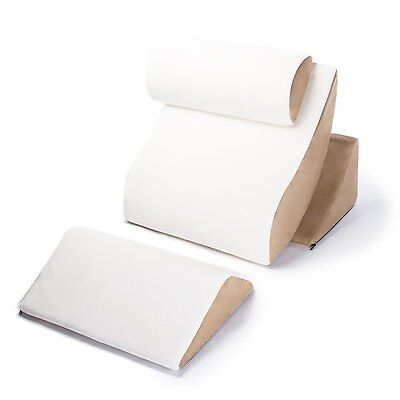 Avana Kind Bed Orthopedic Support Pillow Comfort System, Cloud/Camel