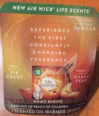 Air Wick Life Scents Scented Oil Base Warmer Unit