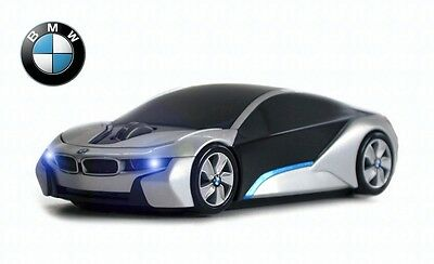 BMW i8 Concept Wireless Car Mouse (Silver) - Officially Licensed