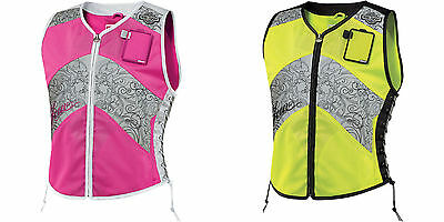 Icon Women's Military Spec Corset Motorcycle Reflective Vest - All Sizes, Colors