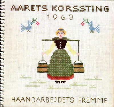 Fremme Kalender Korssting 1963, danish cross-stitch