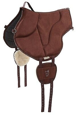 Barefoot Ride-On-Pad Bareback-Pad braun - top - Horse & Hound Celle