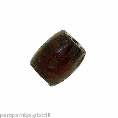 Red Jasper Early Islamic Bead  -  (0992)