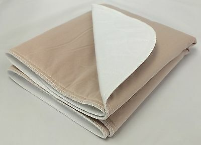 1-30x30 Washable Reusable Dog Training Puppy Pee Pads Piddle Potty Tan backing