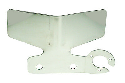 Maypole Tow-Tekta Plate Single Side S/Steel - MP4437B