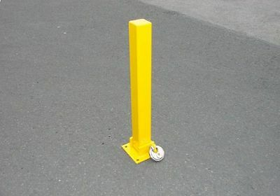 Maypole Security Post - Fold Down With Bolts - MP9737
