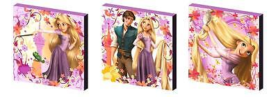 TANGLED SET b - RAPUNZEL CANVAS WALL ART PLAQUES/PICTURES