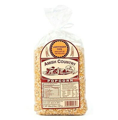 Amish Country Ladyfinger Popcorn - 2 Lb :: Free Expedited Shipping!
