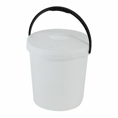 Axentia 235933 Bucket with Lid and Plastic Handle 16 L Axentia