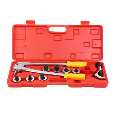 """3/8""""-1 1/8"""" 7pc Refrigeration Air Conditioning Tube Expander Tool Pipe Expander"""