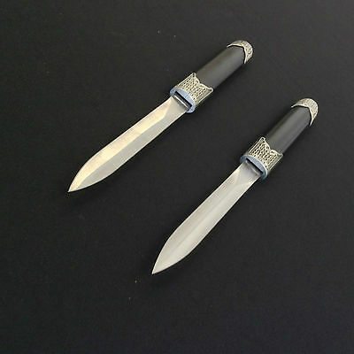 Black Double Daggers/Knives