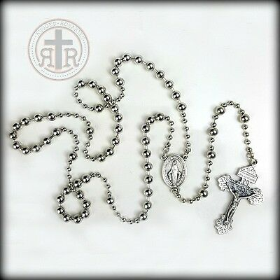 WWI Combat Rosary  - Strong + Rugged - FREE Carry Pouch + FREE Shipping