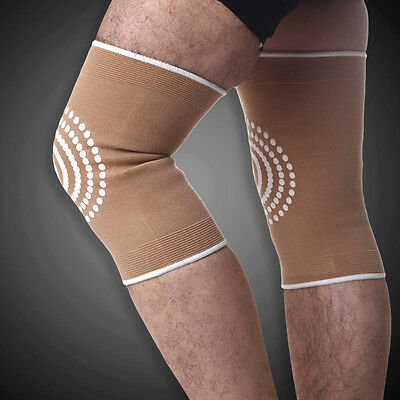 A Pair Of Knee Guard Far Infrared Athletics Keep Warm Sports Knee Protector X34