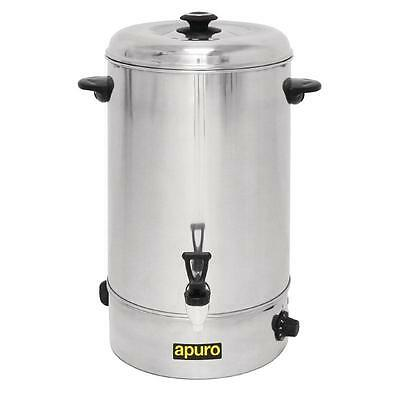 Apuro Manual Fill Hot Water Urn 20Ltr Boiler Heater  Commercial Coffee Tea