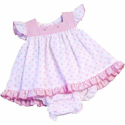 BABYPREM Baby Girls Clothes Pink Premature Tiny Dress Knickers Set Outfit 5lb-NB
