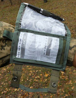 Tactical military battle tested waterproof wrist map phone Case pouch cover 8,3""