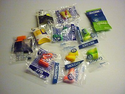 3M Moldex Howard Leight Disposable Soft Foam Earplug Value Sampler Pack 11 Pairs