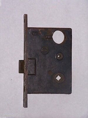 Antique Penn Entry Mortise Lock With Thumb Turn Option